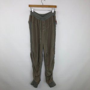 Free People Womens Street Joggers Pant Size M